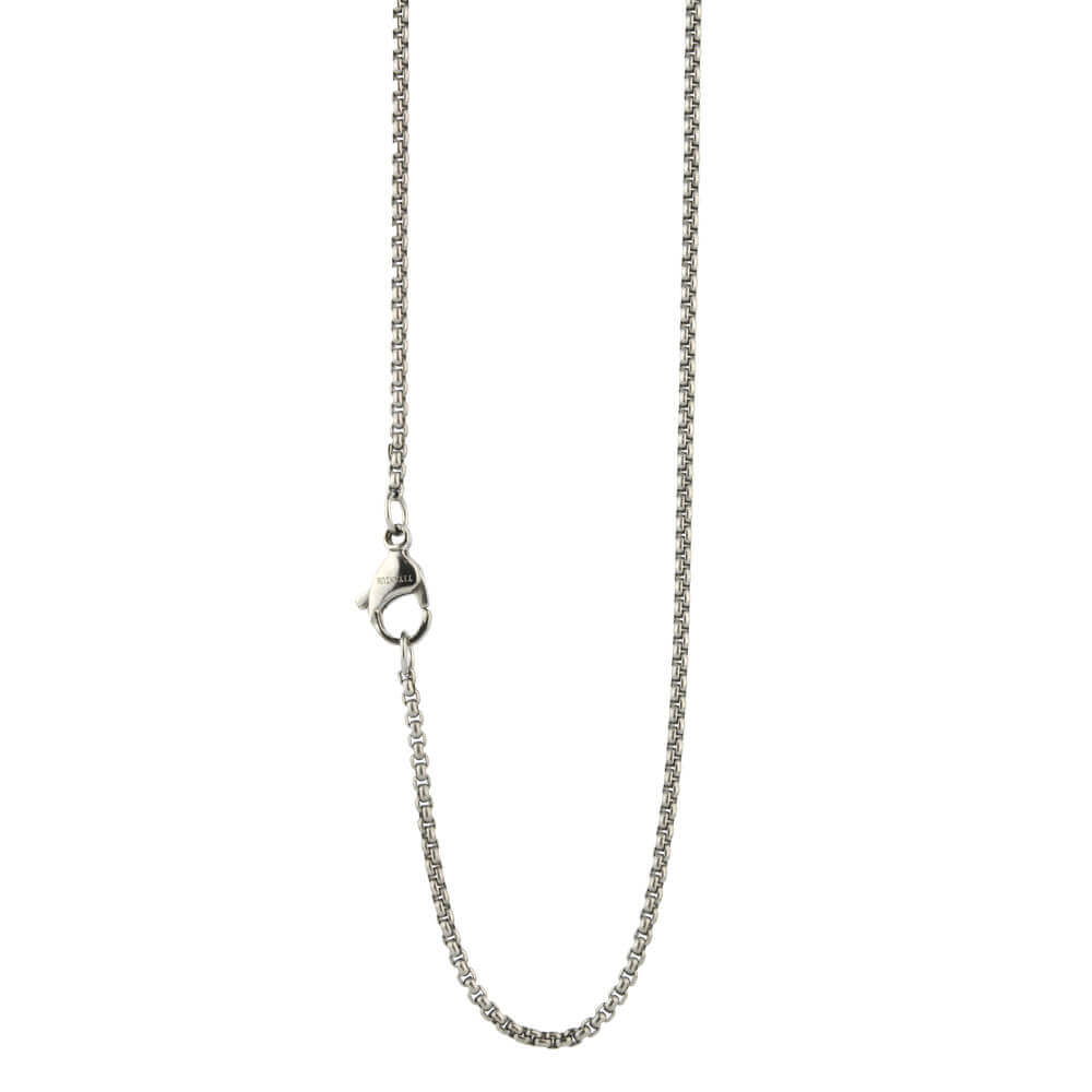 "A titanium 2mm venetian inka style chain with soft square links and is available in 16"", 18"" and 20"" lengths."